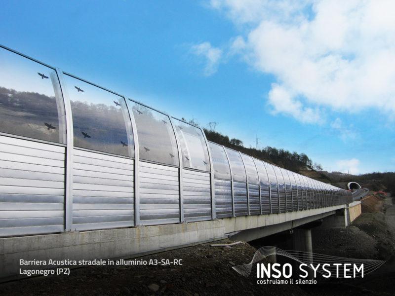 Barriera-acustica-stradale-in-alluminio-A3-SA-RC--Lagonegro-(PZ)