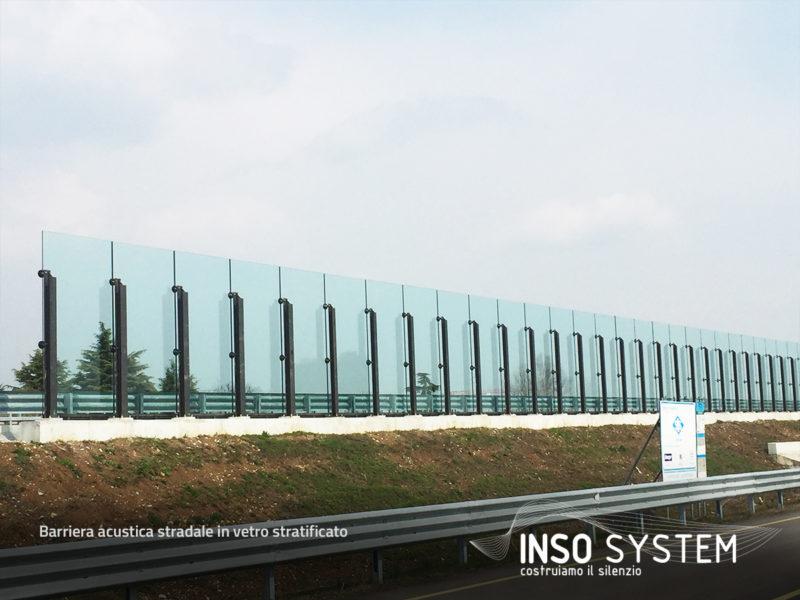 Barriera-acustica-stradale-in-vetro-stratificato-